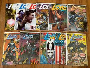 11 Lobo Comic Books DC Infanticide 1 2 3 New 52 2-6 Unamerican Gladiators & More