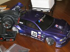Hpi 1/10 Bmw Rc car Rtr pro 4 hara with Lrp sensored motor one way diff + Extras