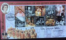 Benham 2.6.2003 Coronation of Queen FDC Signed PETER DIMMOCK, Grandstand, Sport
