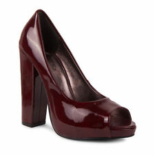Business Peep Toes Synthetic Heels for Women