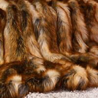 Luxury Plush Faux Fur Throw Blanket Soft Warm Fluffy Couch Home 60''x 58''