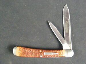 Remington Bullet Knife R1273, Big Banana Trapper Pattern NO Box