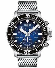 Tissot Seastar 1000 Chronograph ST Steel Blue Dial Men Watch T120.417.11.041.02