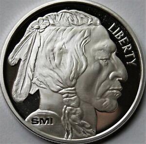 Sunshine Mint Buffalo 1 oz .999 Fine Silver Round