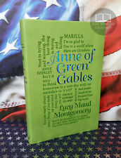 NEW Anne of Green Gables by Lucy Maud Montgomery Faux Leather Word Cloud Edition