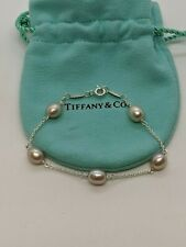 Tiffany & Co. Elsa Peretti Sterling Silver Pearls By The Yard Bracelet - 6.75""