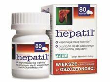 Hepatil Gesunde Leber metabolismus Nahrungsergänzungsmittel 80 Tabletten