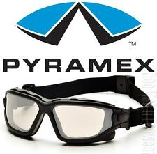 Pyramex I Force Slim Clear Mirror Dual Anti Fog Lens Safety Glasses Goggles Z87+