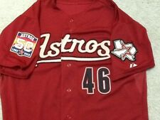 Houston Astros GAME USED HR 50th Anniversary JERSEY Scott Moore Baseball MLB