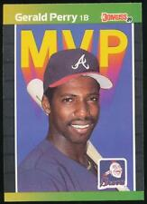 1989 Donruss Bonus MVP's #BC24 Gerald Perry Atlanta Braves