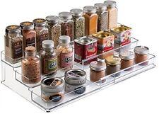 Mdesign extensible Meuble Cuisine Organisateur étagère pour épices condiments en conserve