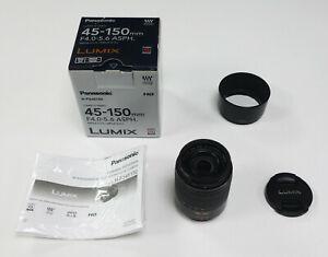 Panasonic 45-150mm f/4-5.6 Lumix G Vario OIS Lens H-FS45150E (REF437)