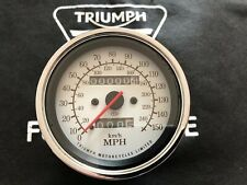 Triumph Thunderbird 900 150 MPH White Face CEV Speedometer