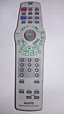 New listing Original Sanyo Rbh520Mt Dvd Player Remote Control