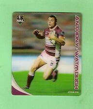 2010  MANLY  RUGBY LEAGUE TAZO - #28 ANTHONY WATMOUGH, SEA EAGLES