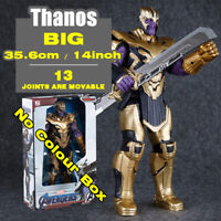 14inch Marvel Action Figure Avengers Endgame Comic Thanos Collect Heroes Big Toy