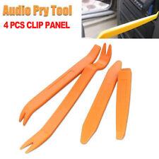 Auto Car Dash Radio Door Clip Panel Trim Removal Pry Tool Set Kit Plastic 4pcs