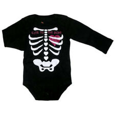 Halloween Cute to The Bone Infant Bodysuit Costume Easy Care 0-3 Months