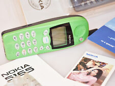 Nokia 5165 Phone with Green Cover