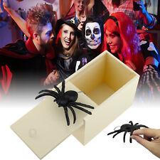 Funny Plastic Spider Prank Gift Box Halloween Surprise Gift  Scare Gag Gift Joke