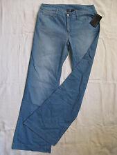 MANGO Collection Damen Blue Jeans W24/L34 Gr.32 regular fit low waist flare leg