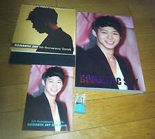 Tvxq jyj 2013 Calendar romantic sky photobook earcap micky yuchun park yoochun