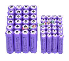24x AA 3000mAh +24x AAA 1800mAh 1.2V NI-MH recargables batería 2A 3A púrpura