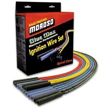 MOROSO 72570 Spark Plug Wires Blue Max Spiral Core 8mm Blue Stock Boots