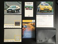 Renault Megane Coupe MK1 1995-2002 Owners Manual Handbook Pack
