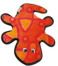 OUTWARD HOUND - Invincibles Geckos Dog Toy Red/Orange - 4 Squeakers