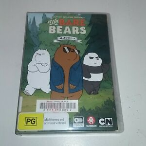 We Bare Bears : Season 1-3 (DVD, 2019, 7-Disc Set) R4 ex rental