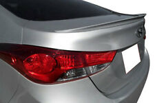 PRE-PAINTED REAR SPOILER FOR 2011-2016 HYUNDAI ELANTRA - NO DRILLING REQUIRED