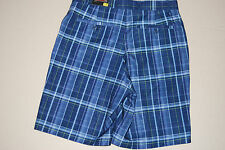 Kirkland Signature Performance Golf Dress Plaid Short Men's 32 New with Tags