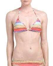 EIDON Vagabond Kali Slider Swim Bikini Top Printed Size Medium Triangle RP $32