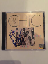 Chic Nile Rogers AUTOGRAPHED Cd Dance Dance Dance-see photo Signing proof