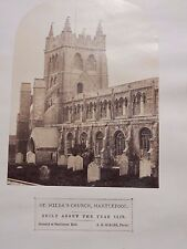 Photograph Original Victorian A E Scales St. Hilda's Church Hartlepool c.1870