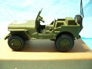 DINKY: US Army Jeep 615. Restored.