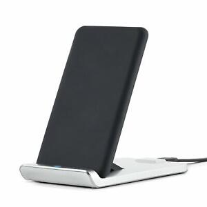 TYLT Fold 10W Wireless Charging Pad and Adjustable Stand (Black),