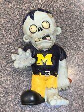 Michigan State Wolverine Team Zombie Figurine NCAA Figure Garden Gnome CDG