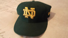 NOTRE DAME UNIVERSITY NEW ERA FITTED CAP SIZE 7 1/4