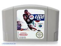 N64 / Nintendo 64 Spiel - NBA Live 99 Modul