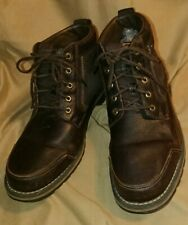 TIMBERLAND EARTHKEEPERS Boots - 10 - Vintage Superior Quality Dark Brown Leather