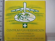 Aufkleber Sticker Centrum für Reisemedizin Düsseldorf (3942)