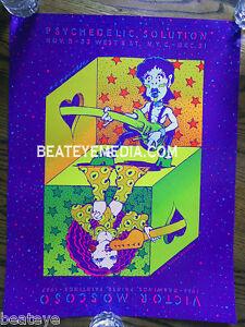 MOSCOSO POSTER-UNDERGROUND COMICS-COMIC ART-COMIX-concert poster-ANIMATION-crumb