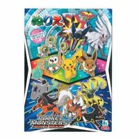 [NEW] POKEMON Sun and Moon Coloring Book Nintendo Japan Pikachu F/S From JAPAN