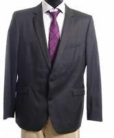 Strellson Sakko Jacket Allen-Mercer Gr.54 grau uni Einreiher 2-Knopf -S379
