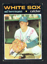 Ed Herrmann #169 signed autograph auto 1971 Topps Baseball Trading Card