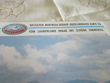 Alpenbahnen Westalpen K 26 Meontreux BOB Châreau D´Oex Lenk Simmental