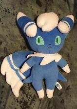 "Meowstic Pokemon Plush Takara Tomy 9"" Soft Toy Collectable Pokémon Character vgc"