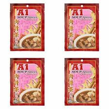 4 Pack A1 Herbal Soup Spices Bak Kut Teh Imported from Malaysia